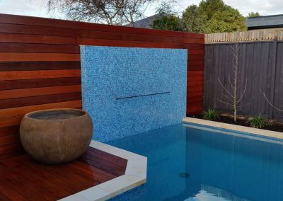 swimming pools with water features melbourne
