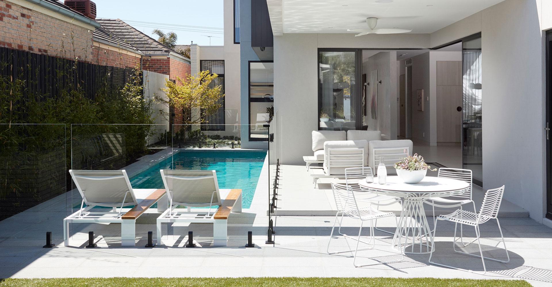 small area designer swimming pools