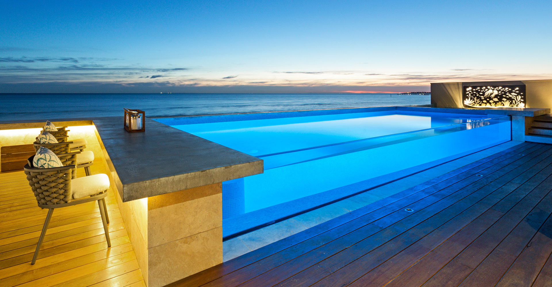 infinity swimming pools and designs
