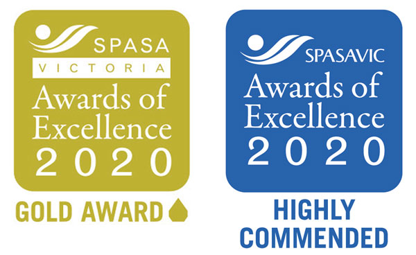 spasa gold award and highly commended